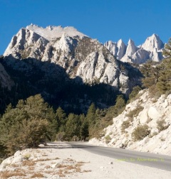 Jagged Mt Whitney