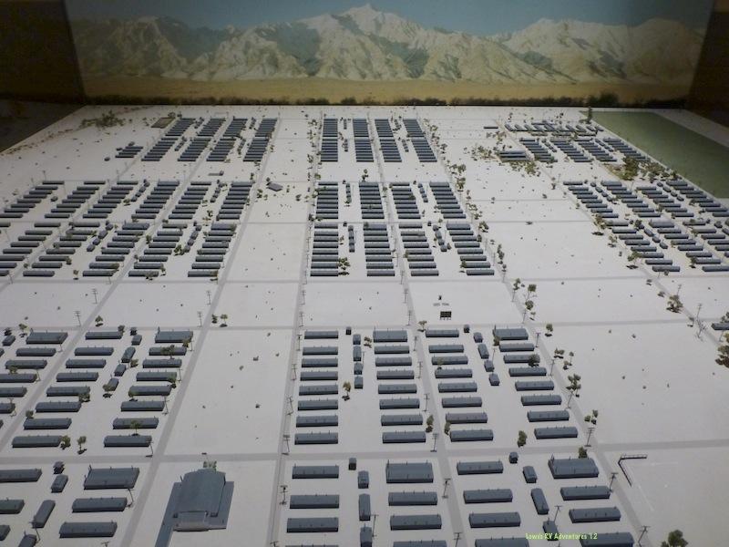 Replica of the entire Manzanar Camp