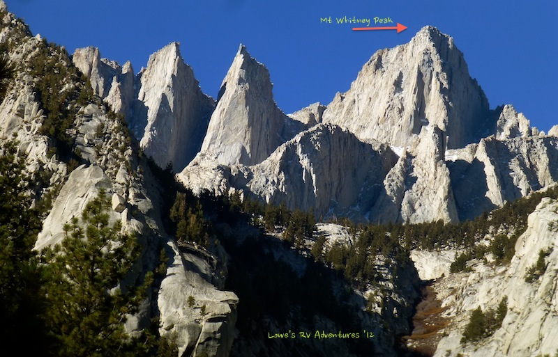 Discovering Majestic Mt Whitney She S A Beauty The Lowe S Rv Adventures