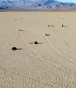 Racing Rocks at Racetrack Playa