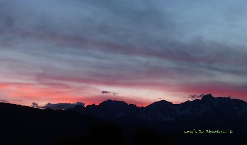 Sunset at Bishop