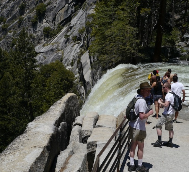 Top of Vernal Falls