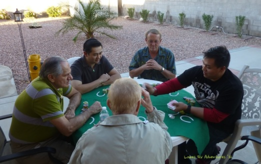 The boys with Texas Holdem