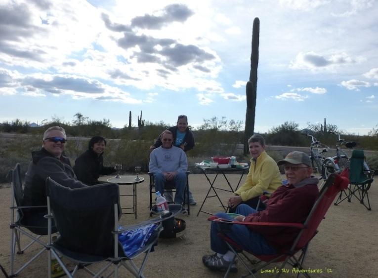 Campfire at the Hubbard's