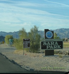 Entrance to Sara Park