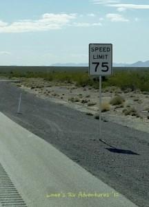 75 mph Speedlimit
