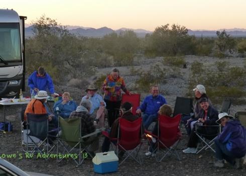 Happy Hour in the desert
