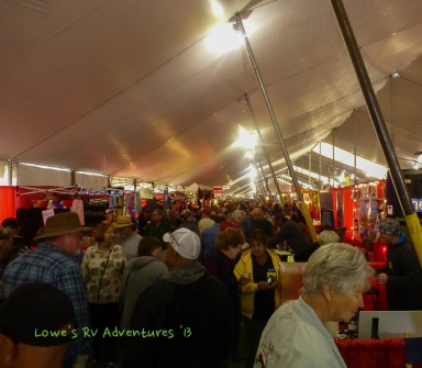 RV Big Tent Show at Quartzsite
