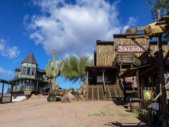 - Goldfield, 1890 Gold Town Site