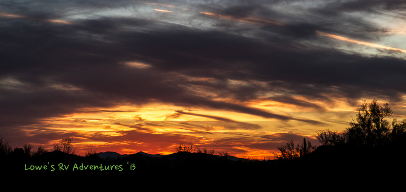 Cave Creek Sunset
