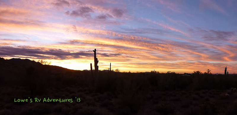 Cave Creek Sunrise