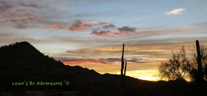 Cave Creek Sunrise