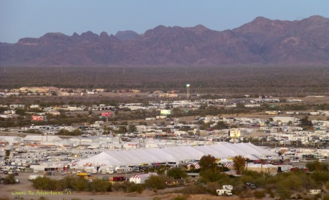 Big Tent, Quartzite, Arizona