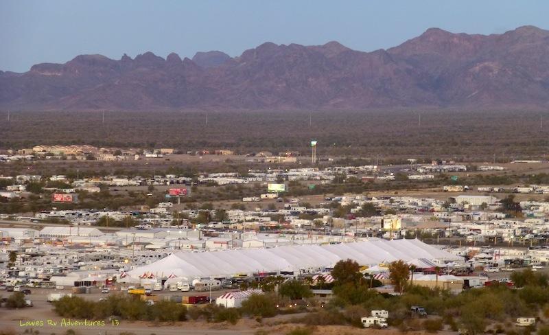 Big Tent, Quartzite, Arizona