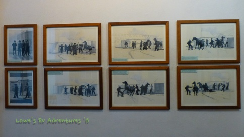 Illustrations of the gunfight at OK Corral