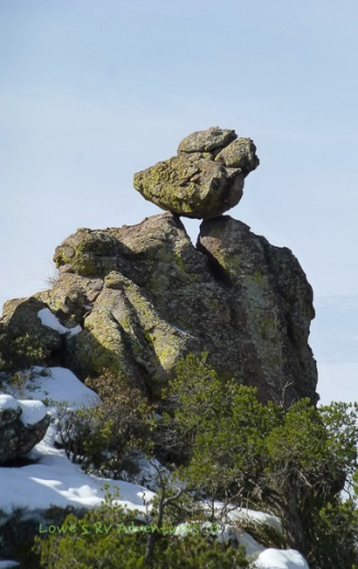 How did that rock get there?
