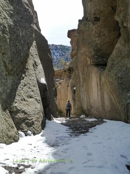 Wall Stree at Echo Canyon Trail