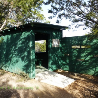 Bird Blind at South Llano River State Park