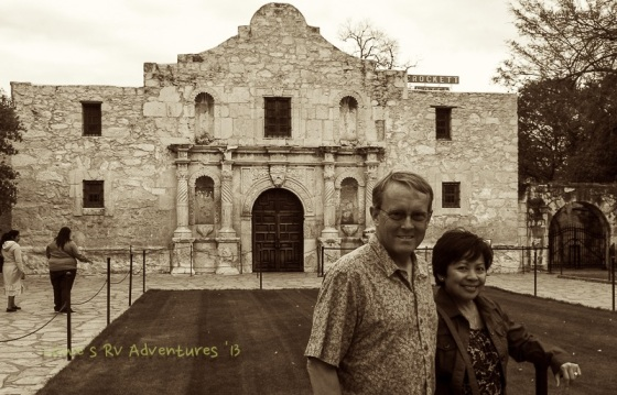 Shrine at the Alamo