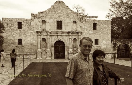 Shrine at the Alamo