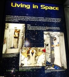Sleeping in space