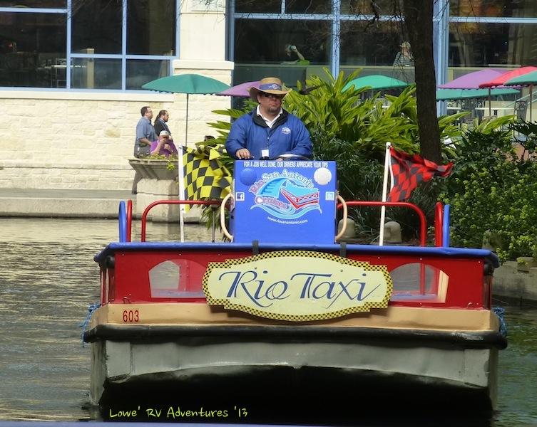 River Boat Taxi on the Rio