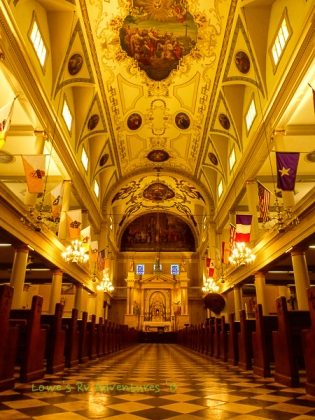 The St Louis Cathedral