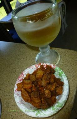 Beer and cracklings