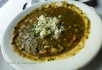 Yummy shrimp gumbo