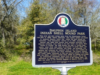 Indian Shell Mound, Dauphin Island