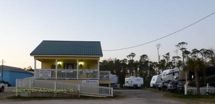 Front of RV Park and office