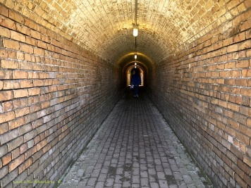 Preserved original tunnel in bricks