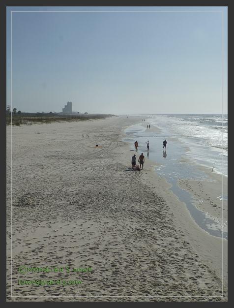 Taken from the Gulf Shore pier