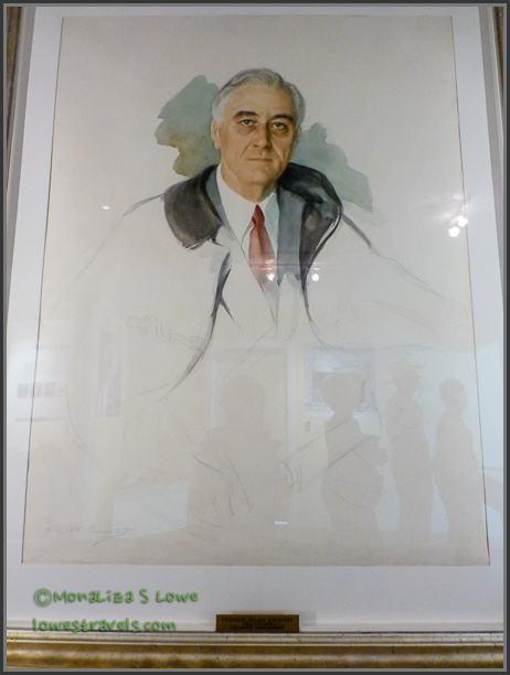 FDRs Unfinished portrait
