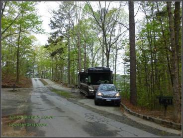 Stone Mountain Park Campground