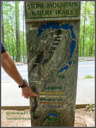 Stone Mountain Park Hiking Trails
