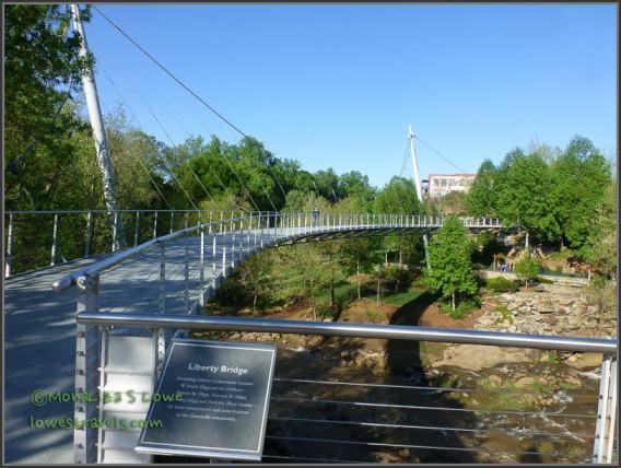 Liberty Bridge, Greenville