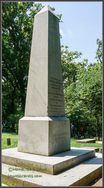 Jeffersons Grave