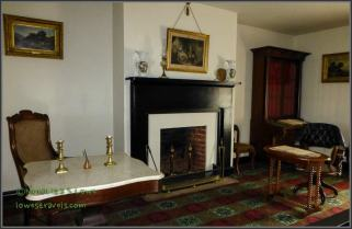 Parlor where Robert E. Lee surrendered his army to Lt. Gen. Ulysses S. Grant.