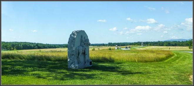 View of Oak Ridge, Gettysburg Battlefield