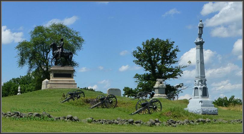 Gettysburg Battlefields Monument