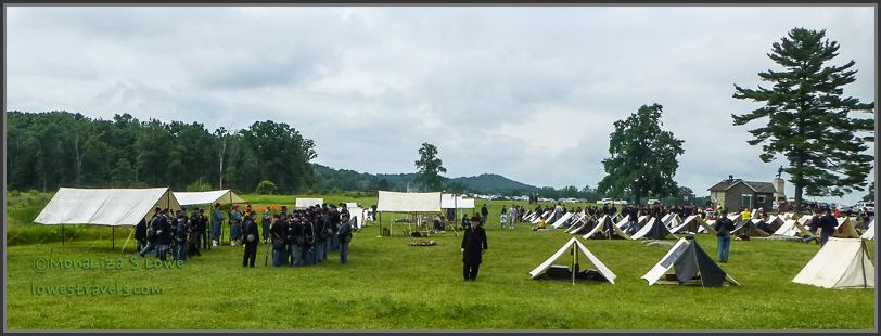 Battlefield Reenactment Volunteers