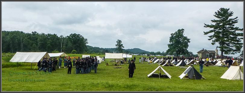 Battlefield Reenactment Volunteers