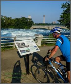 American Rapids by bike - cool!