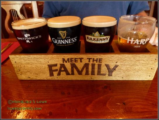 Irish beer family - pleased to meet you!