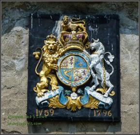 British Coat of Arms- Old Ft Niagara