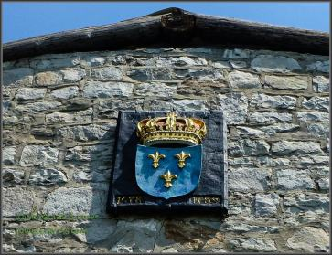 French Coat of Arms Old Ft Niagara