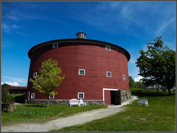 80-foot-diameter Round Barn
