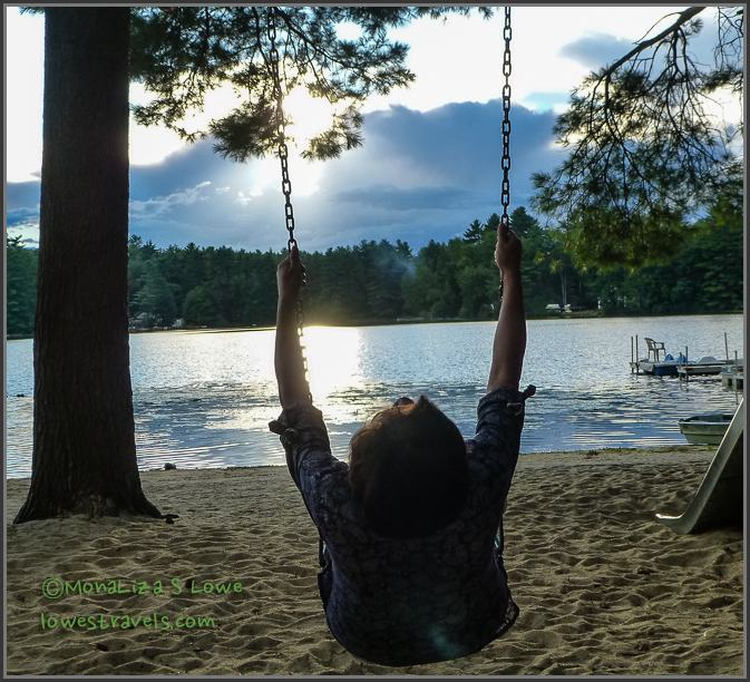 On Golden Pond Squam Lakes Nh The Lowe S Rv Adventures