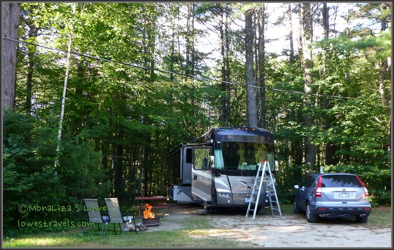 Desert of Maine Campground